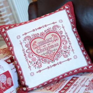 Fodere cuscini Christmas Cuore | Patrizia Zani