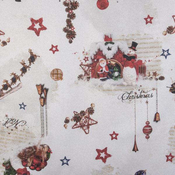Tessuto Slitta di Santa Claus | Patrizia Zani