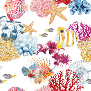 Tessuto corallo | Patrizia Zani
