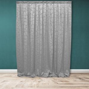 Tenda confezionata Valentina (grigio) | Patrizia Zani